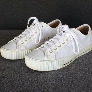 PF Flyers Center Lo Made in USA, White, Men's